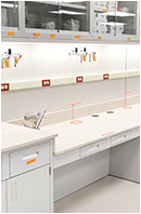 government lab workbenches