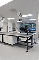 healthcare sample processing furniture