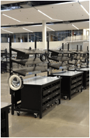 government manufacturing facilities workbenches