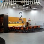 makerspace work benches with solid wood