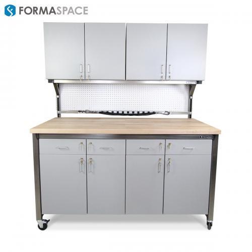 workstation with storage