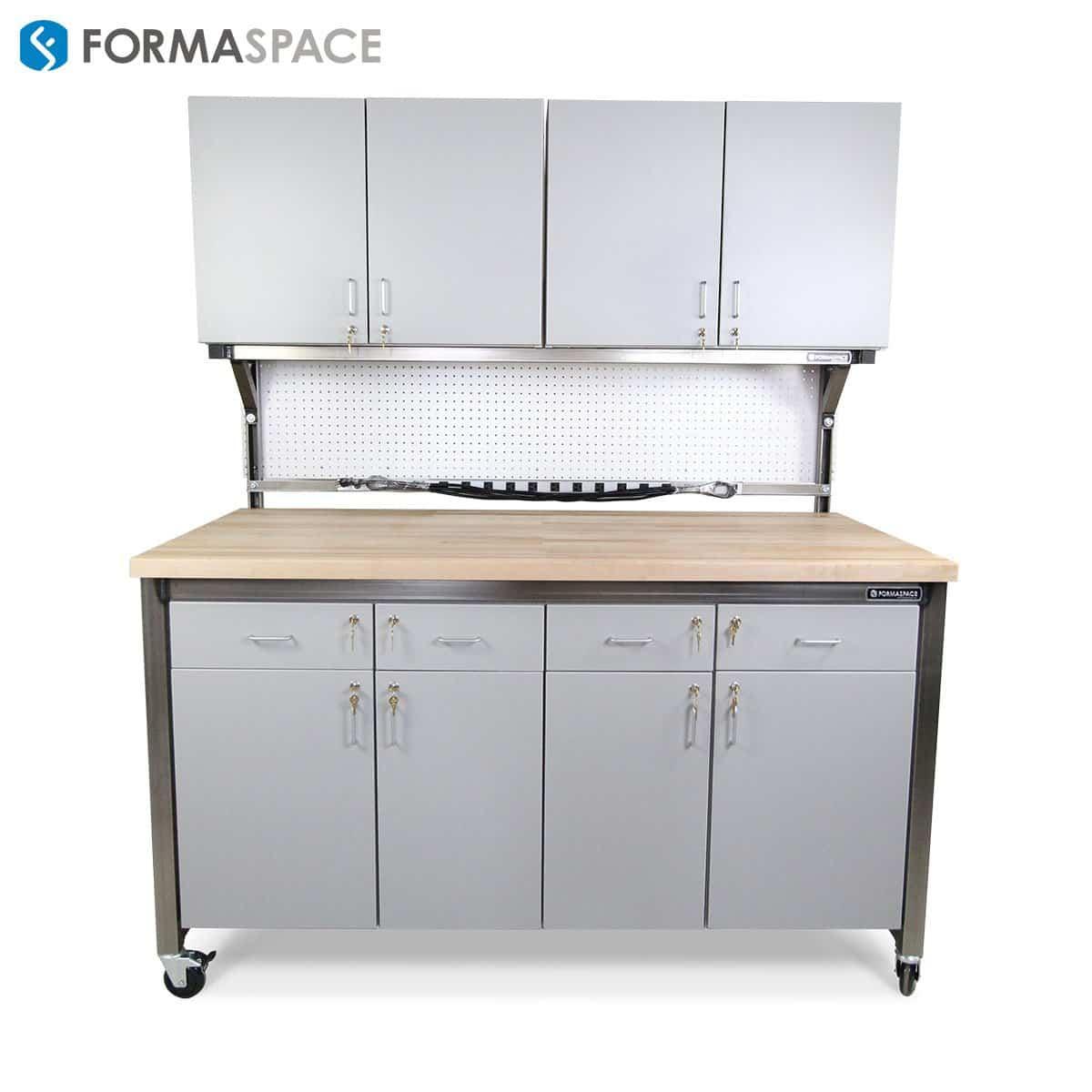 benchmarx workbench locking cabinets