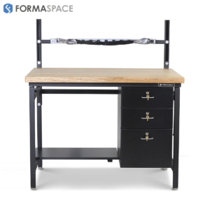 delux bench lockable drawers by formaspace