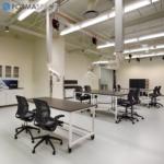chemical resistant workstations for denver museum