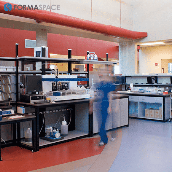 custom diagnostics laboratory furniture