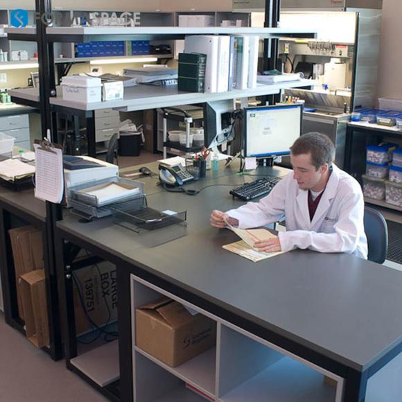 data processing lab station