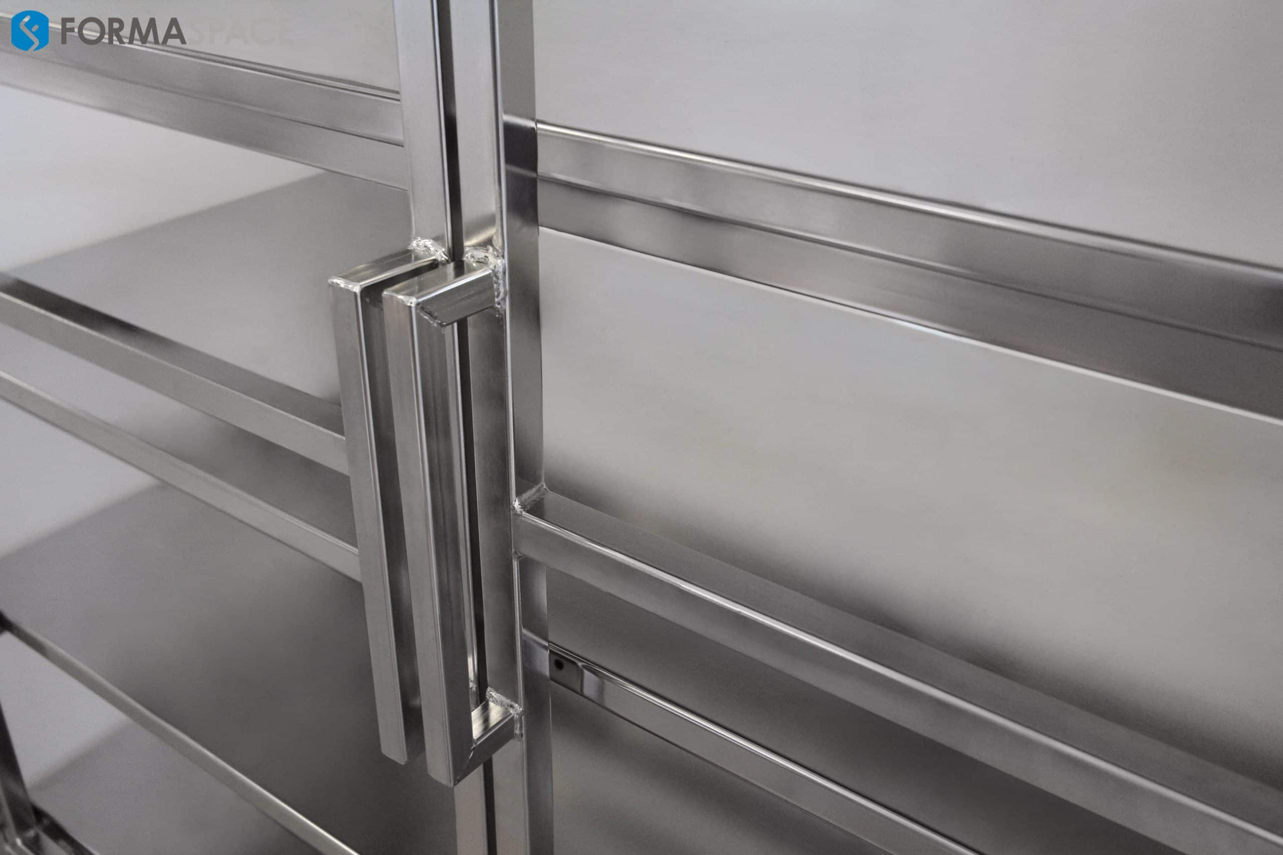 stainless steel cabinet frame