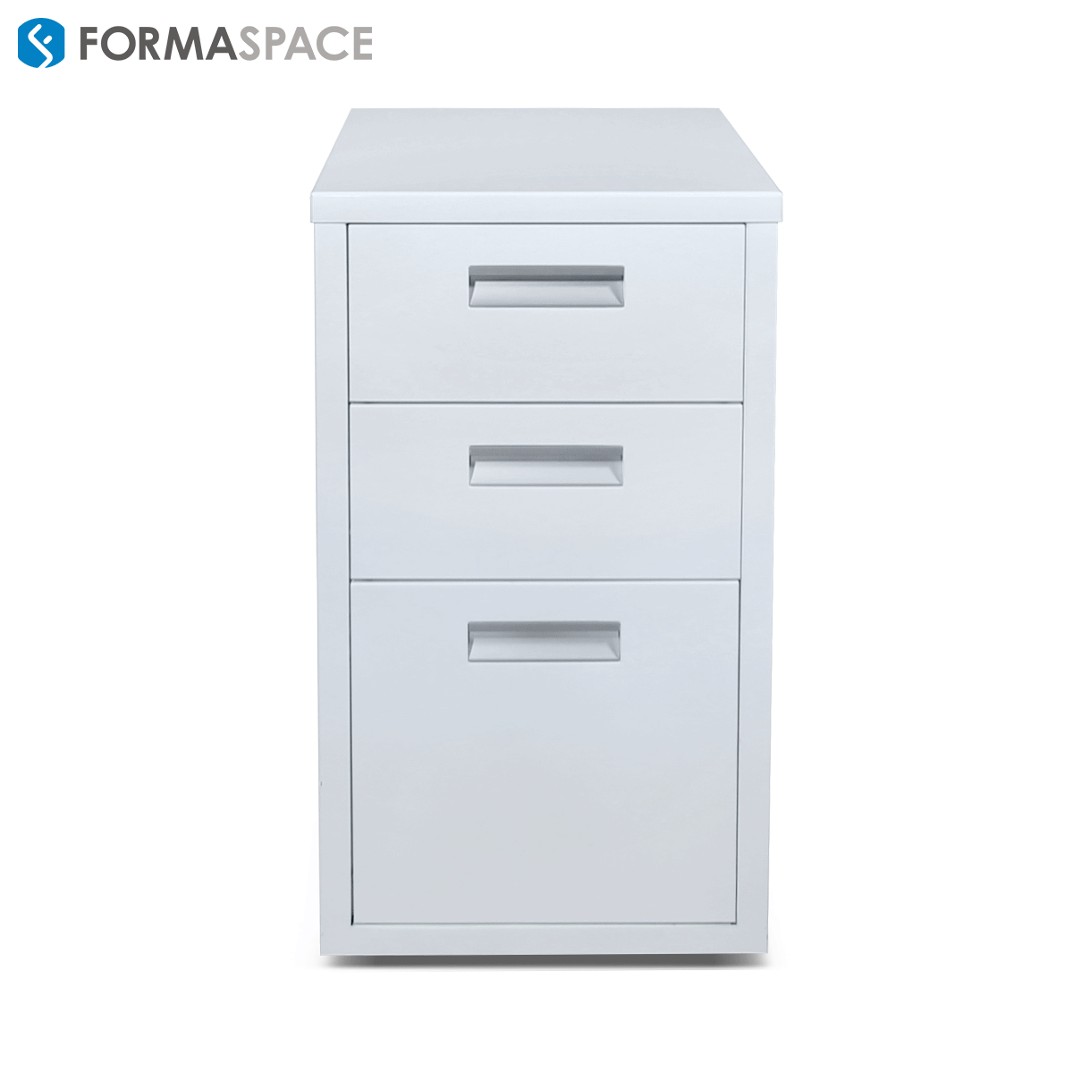 steel white pedestal