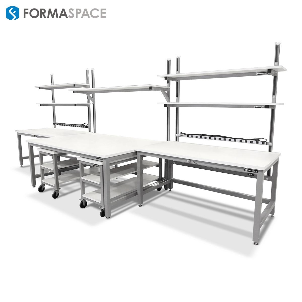 formaspace laboratory workbenches