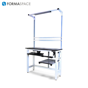Height Adjustable Pharmaceutical Packing Station