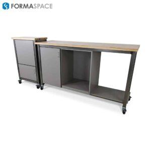 custom storage benching