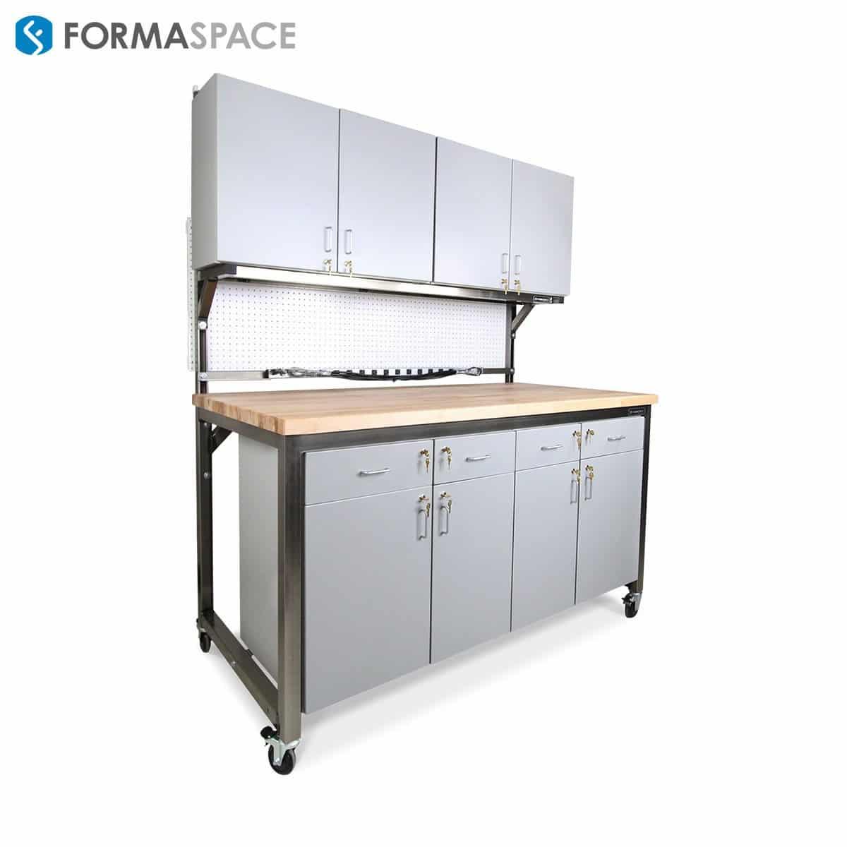 locking storage workbench