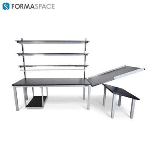 integrated material handling workstation