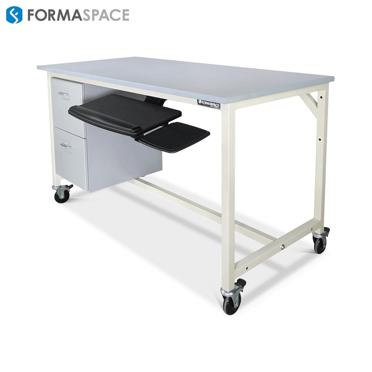 epoxy top workbench