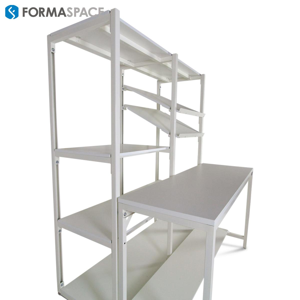 height adjustable industrial shelves