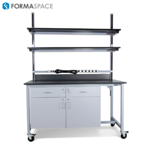 small width workbench for lab