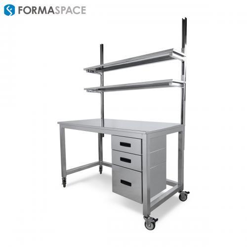 STAINLESS STEEL MOBILE BENCHMARX