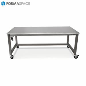 ss work surface welded steel frame