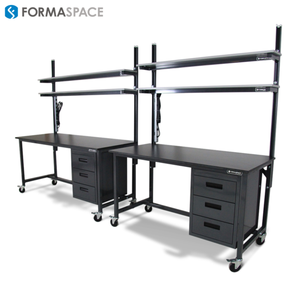 workbench workstation with storage