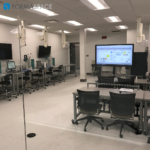 wet lab with lab snorkels