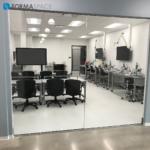 wet lab training room