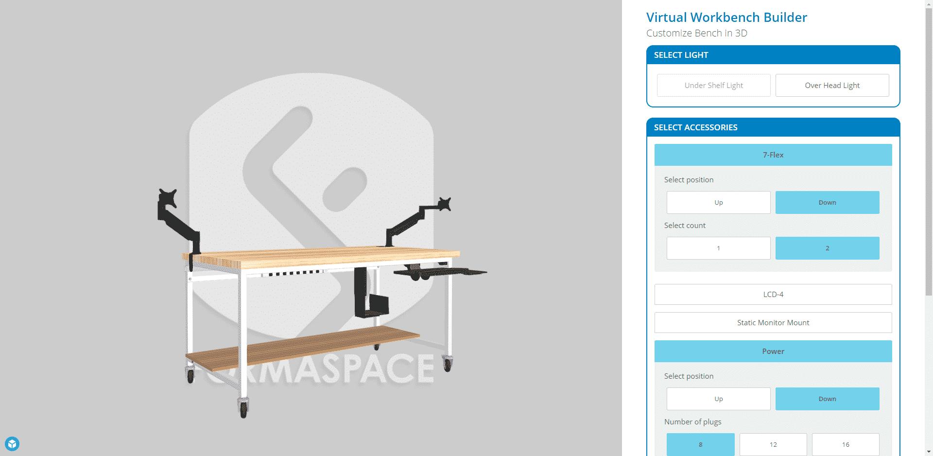 data entry desk 3d design