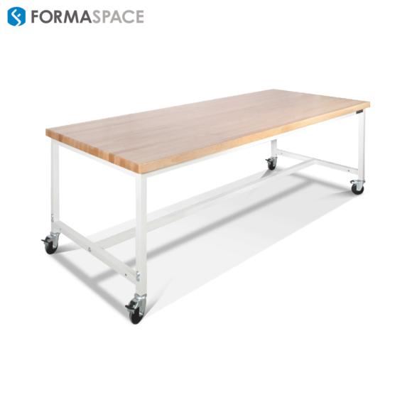 hardwood top workbench