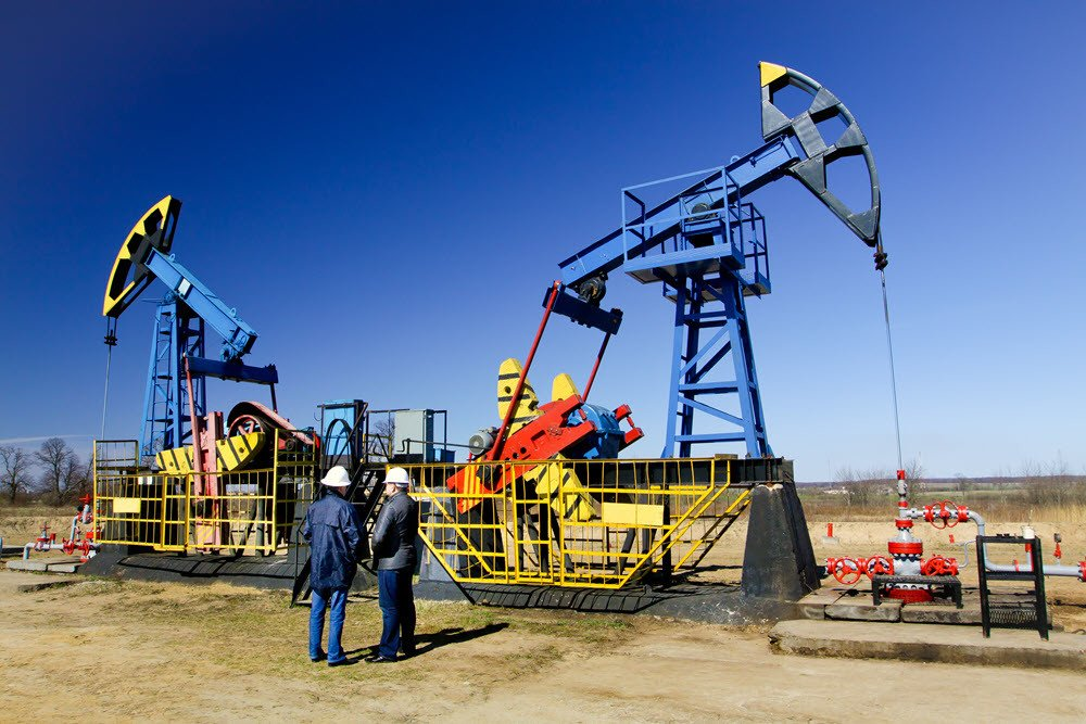 oil and gas well site
