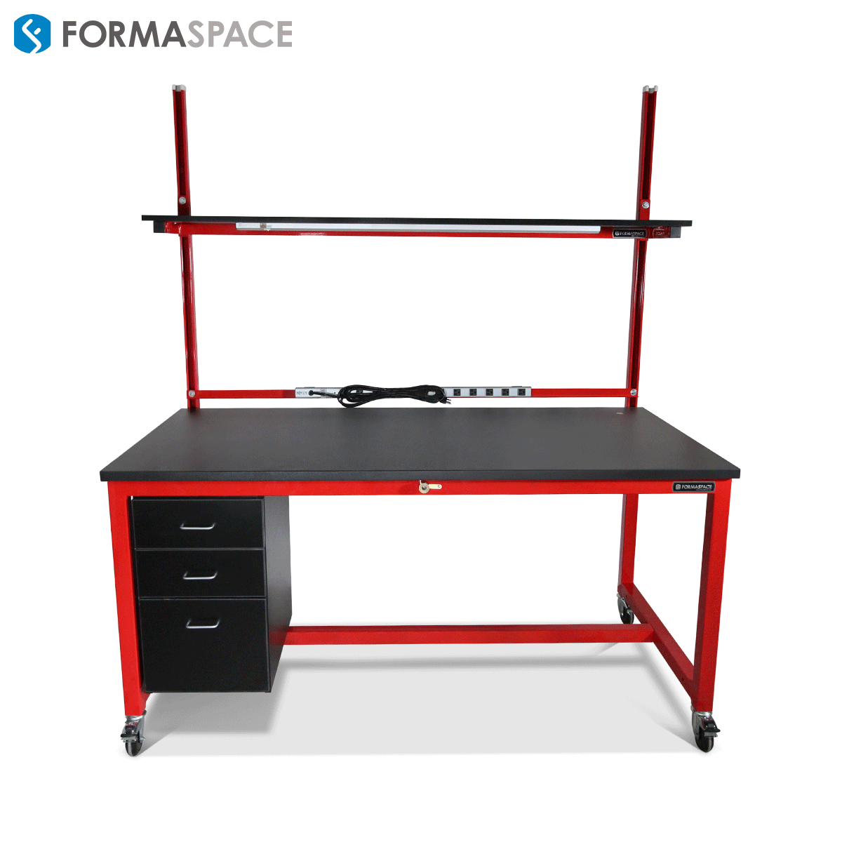 tech lab workbench with esd kit