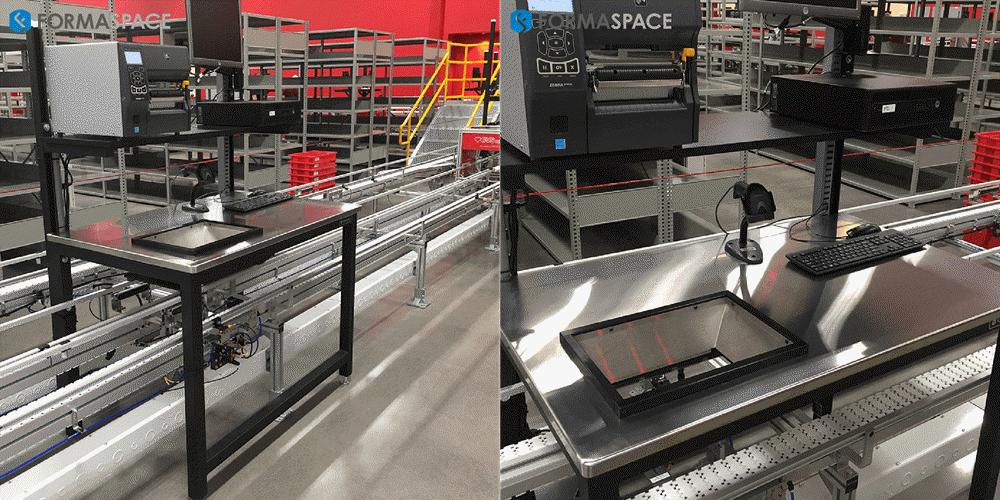 pharma stainless steel distribution center
