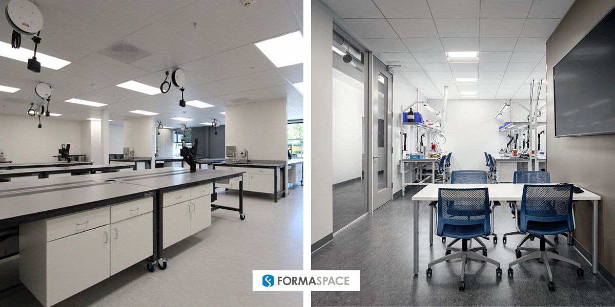 Formaspace Clinical Testing/Sample Processing Labs Examples
