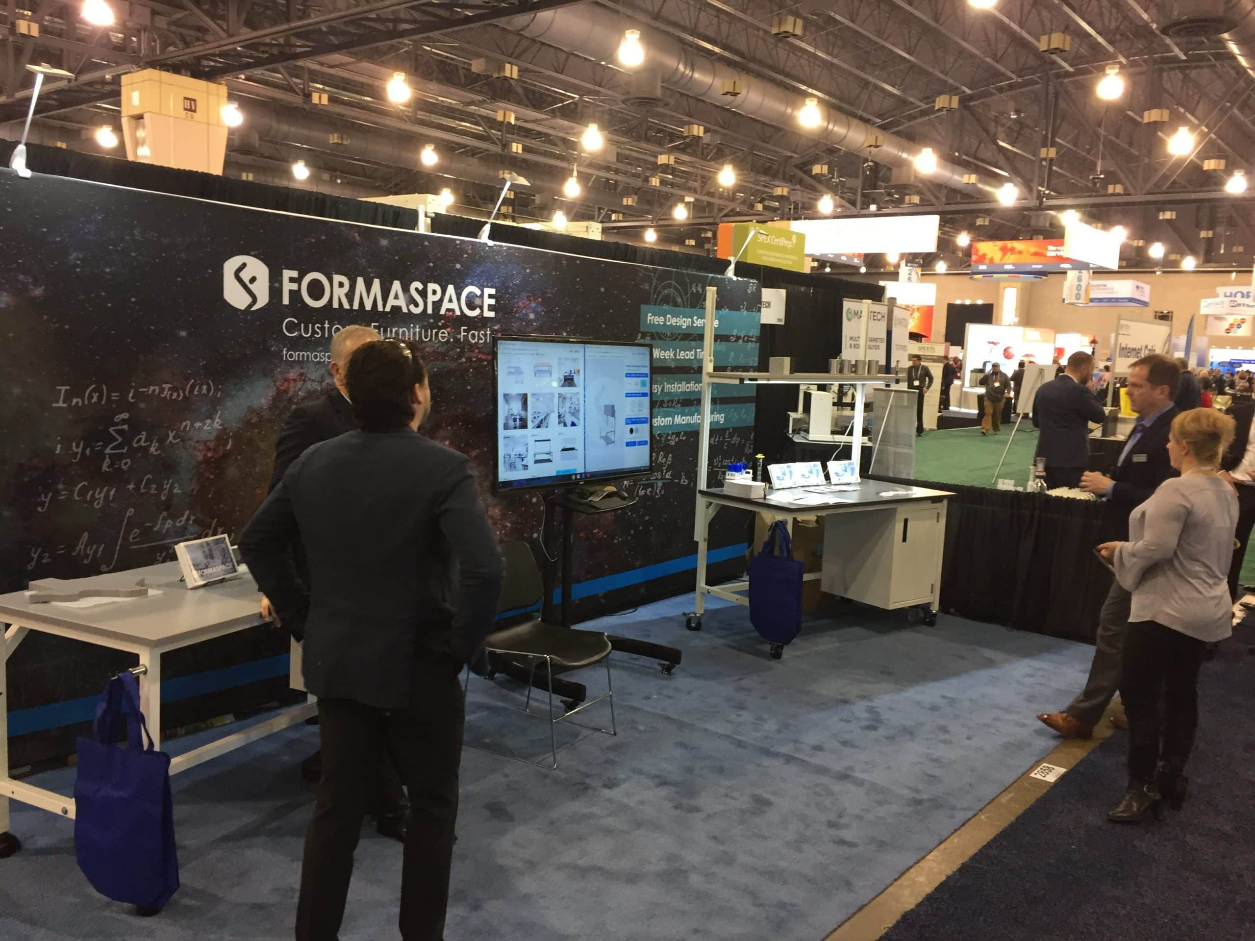 pittcon 2019 Formaspace booth