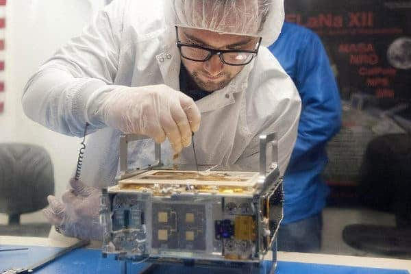 Mars Cube One mini-satellite