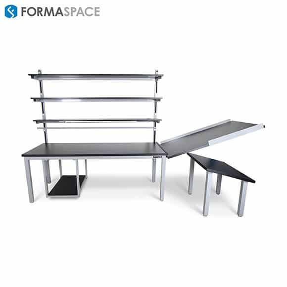 workbench integrated into manufacturing