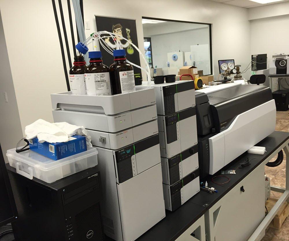 cannabis testing lab
