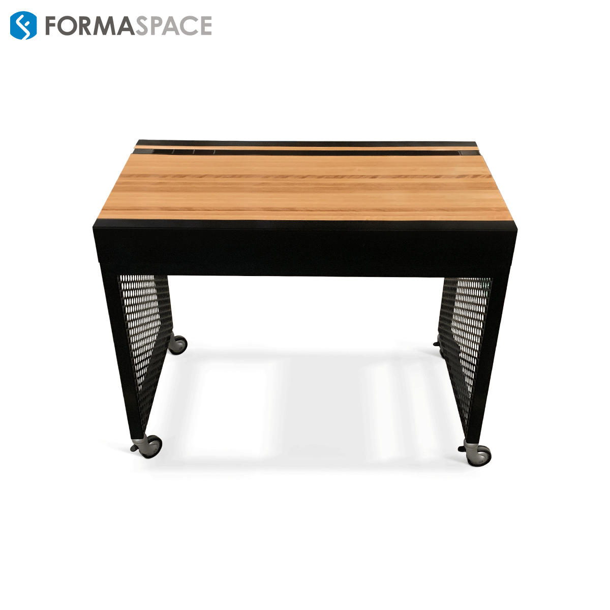 """custom 4"""" table with pencil holder"""