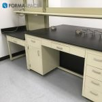 casework and lower storage