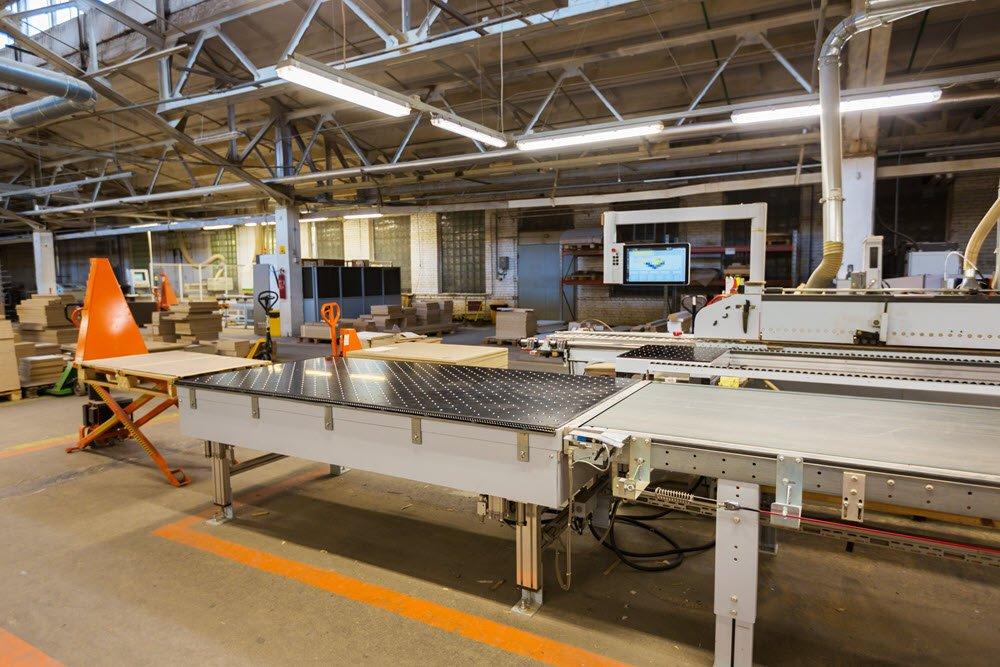 furniture manufacturing facility