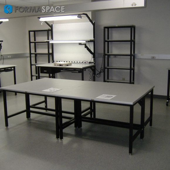 tech lab furniture for electronics repair and maintenance facility