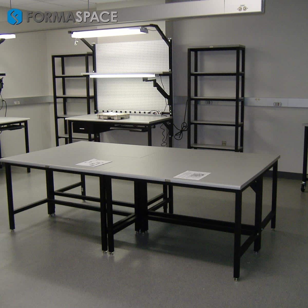 Tech Lab Furniture for Electronics Repair & Maintenance Facility