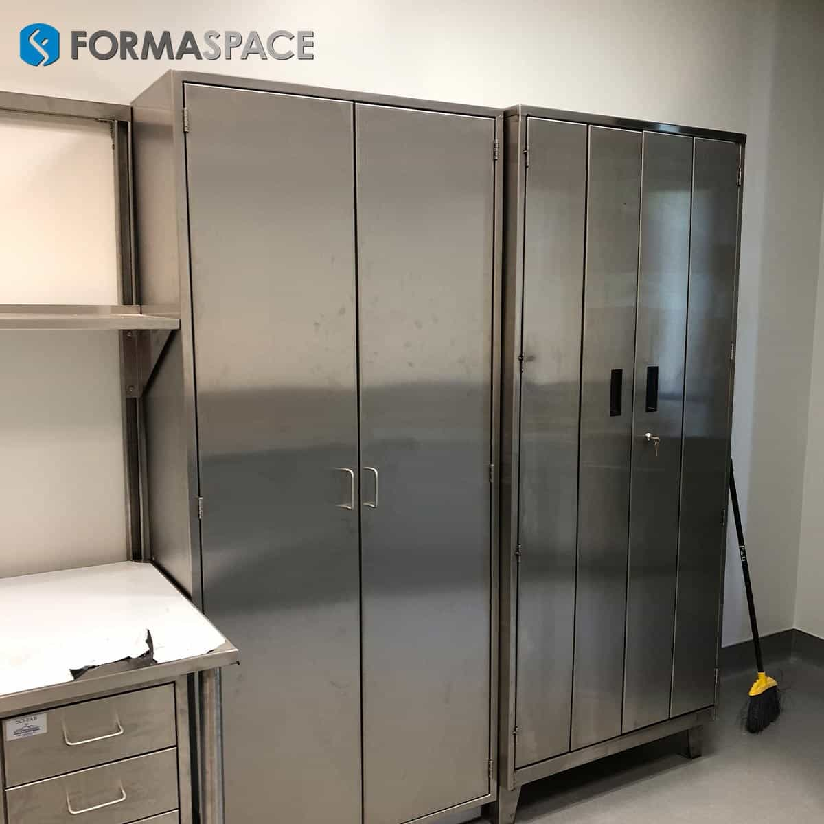 Tall Stainless Steel Cabinets