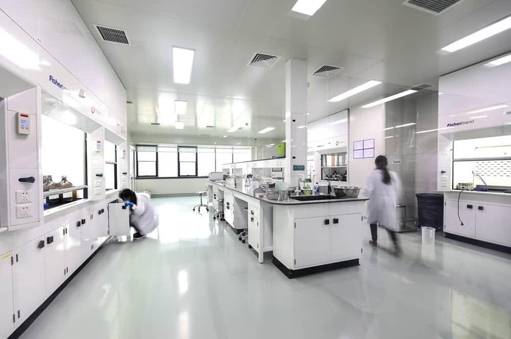 pharma casework lab