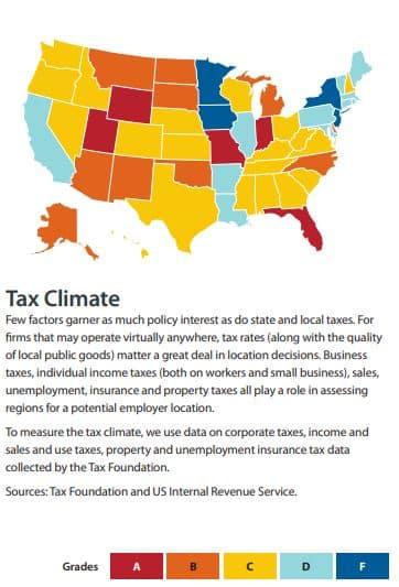 tax burden in the us