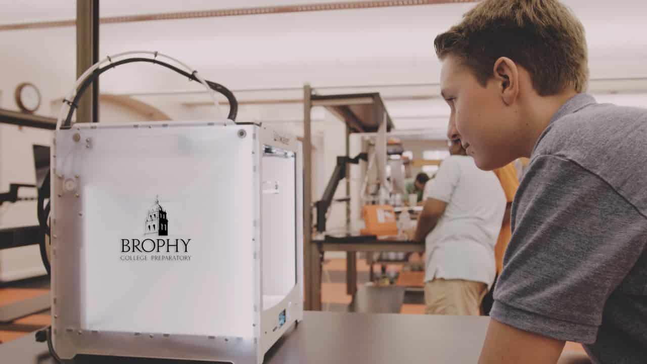 custom industrial-grade workbenches brophy prep school