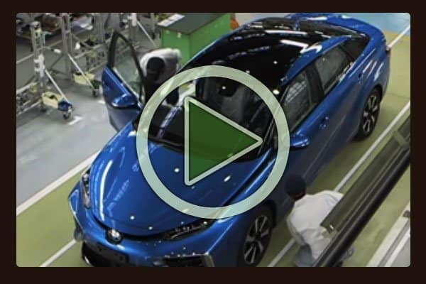 Perhaps you've heard the terms food porn or decorator porn for close-up photo shoots and slow-motion videos of gourmet food or lavish architectural interiors. How about some car manufacturing porn? Here's 20 full minutes of hand assembly of the new Toyota Mirai hydrogen fuel powered vehicle.