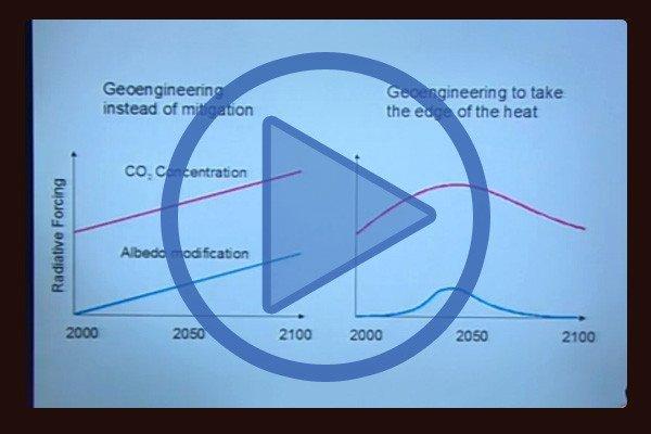 Environmental scientist David Keith Geo-Engineering proposal: Ash in the Sky