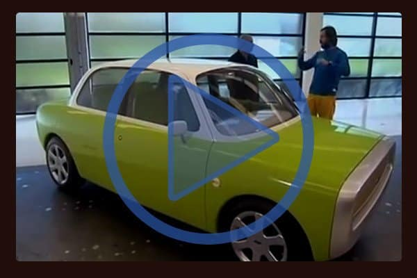 BBC interview of Marc Newson and his Ford O21C concept car.