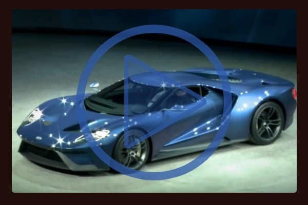 Watch Ford President and Chief Executive Officer Mark Fields introduce the Ford GT to cheering crowds at the end of his corporate presentation at the Detroit Auto Show.