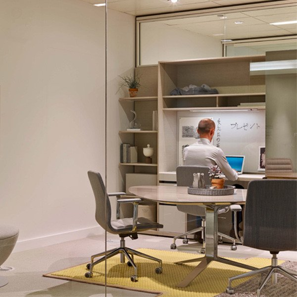 Haworth's new Suite office solution won a Gold award in the case line competition at Neocon 2014.