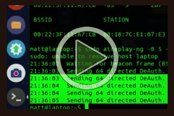 Black Hat hacker video showing how to exploit a router.